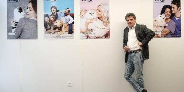 Jérôme Salord, PDG de SantéVet