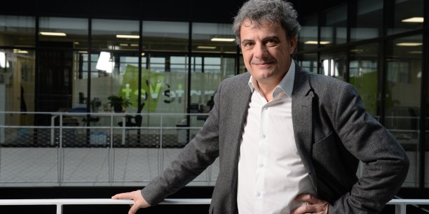 Jérôme Salord, PDG de SantéVet.