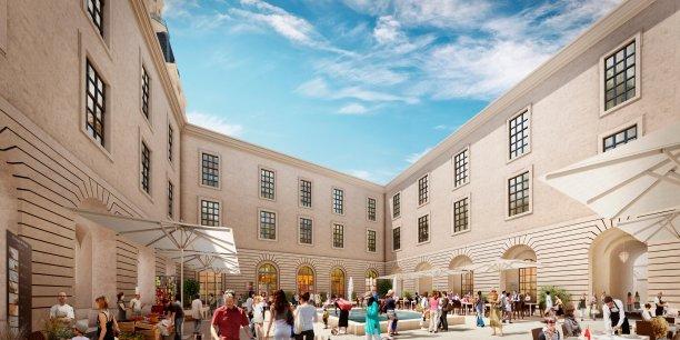 La Cité de la Gastronomie sera logée au sein du Grand Hôtel Dieu