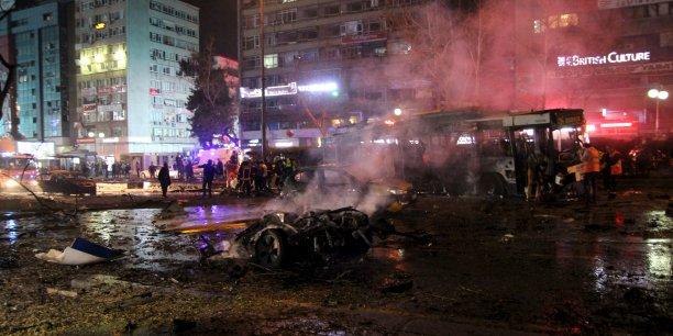 L'explosion s'est produite dans le centre d'Ankara, près d'un grand carrefour.