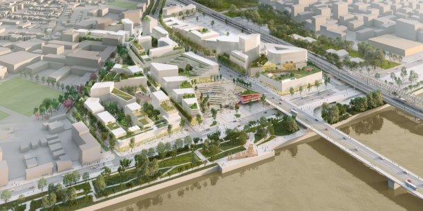 Belvédère représente le plus important programme immobilier de Bordeaux Euratlantique sur la rive droite de Bordeaux.