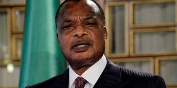 Denis Sassou Nguesso, le président du Congo, préside le comité de haut niveau de l'Union africaine.