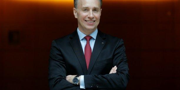 Thomas Buberl, patron d'Axa à compter du premier septembre.
