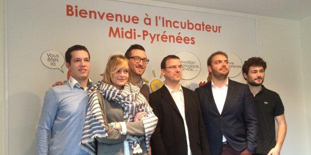 Les nouvelles porteurs de projet de l'incubateur Midi-Pyrénées
