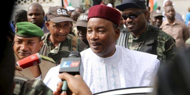 Mahamadou Issoufou, président du Niger