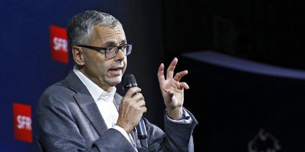 Michel Combes, directeur des opérations d'Altice et PDG de sa filiale SFR.