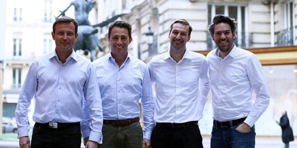 Les associés de la startup InVivox (e-santé), jeune entreprise pensionnaire de la pépinière de Bordeaux Unitec