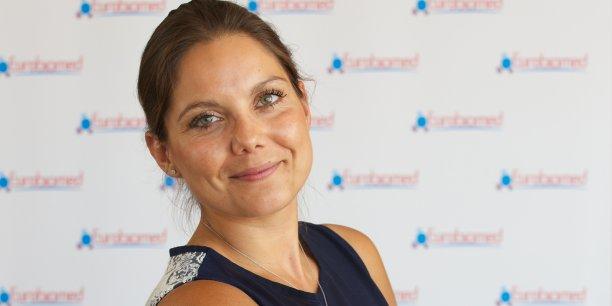 Emilie Royère, directrice générale du pôle de compétitivité Eurobiomed, consacré à la healthtech dans le sud de la France.