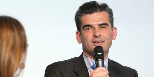 Pierre d'Agrain lors du Forum Fintech Innovation de La Tribune Toulouse