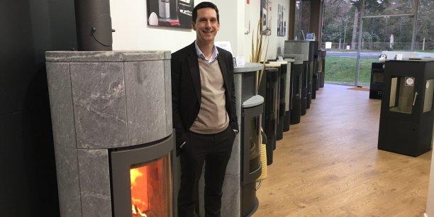 Marc Labattu, désormais aux commandes de la société girondine Turbo Fonte, entend développer le réseau de concessionnaires de la marque de cheminées et poêles partout en France et en Europe.