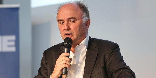 Alain Clot lors du Forum Fintech Innovation