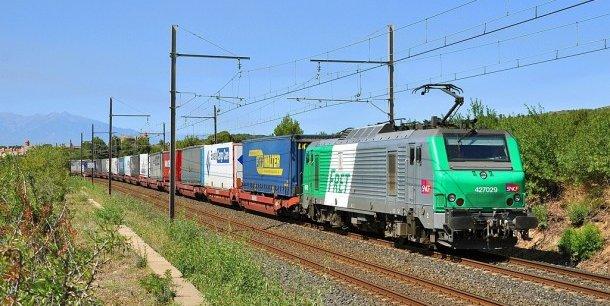 Fret ferroviaire (image d'illustration).