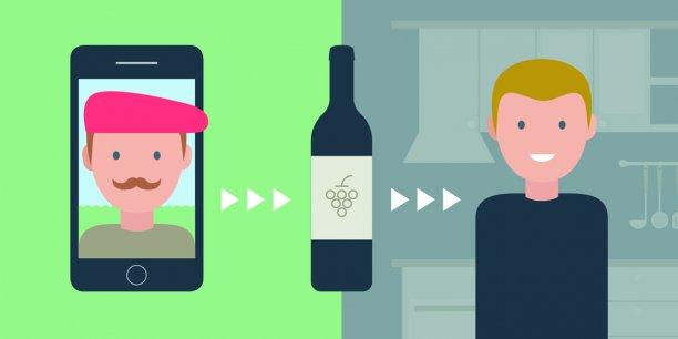 Pour une bouteille achetée 10 euros dans la grande distribution, le producteur touche 3,90 euros, tandis qu'avec Twil, sur les dix euros payés par le consommateur, le producteur en récupère 5,80.