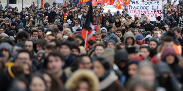 Lors de la première manifestation contre la loi travail, le 9 mars, la jeunesse était venue en nombre pour affirmer son opposition.