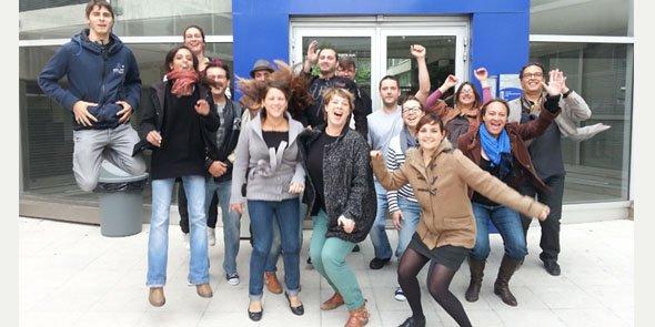 L'équipe des formateurs de la nouvelle école ISDD