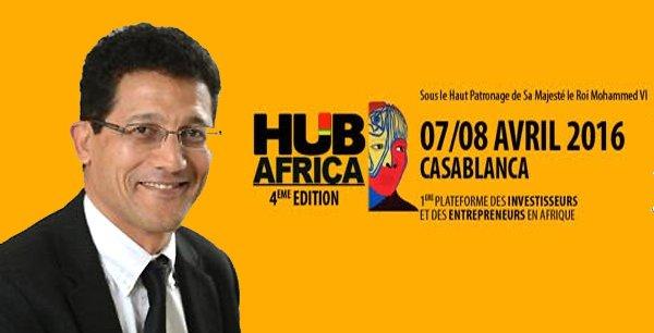 Zakaria Fahim, président de Hub Africa, salon des investisseurs et des entrepreneurs en Afrique.