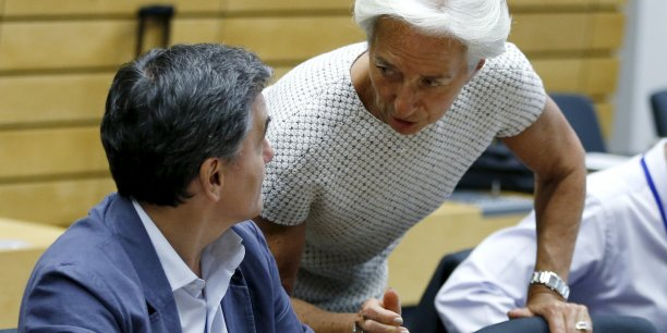 Le gouvernement grec de gauche accuse régulièrement le FMI de se livrer à une surenchère d'austérité contreproductive.