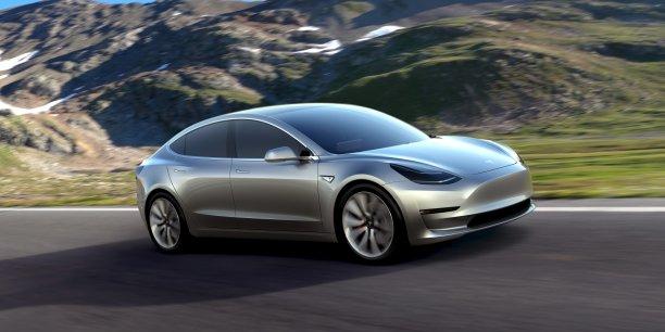 Tesla Model 3 sera en livrable fin 2017 aux Etats-Unis, et courant 2018 en Europe.