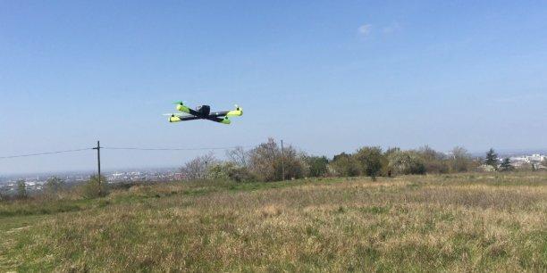 Le drone Diodon développé par Airvada, une startup toulousaine