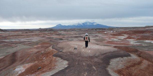 Le désert de l'Utah, un lieu idéal pour simuler une mission sur mars.