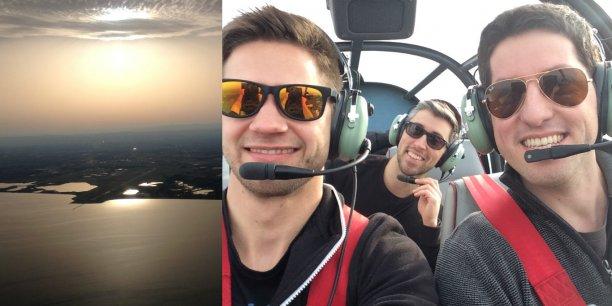 Des co-avionneurs utilisant la plateforme Wingly