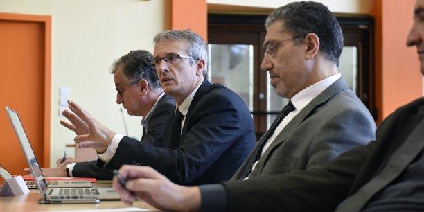 Frédéric Fleury en avril dernier.
