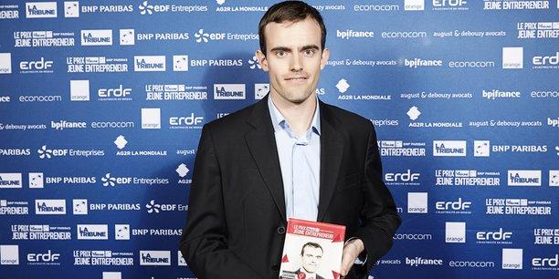 Matthieu Claybrough, 27 ans, cofondateur de Donecle