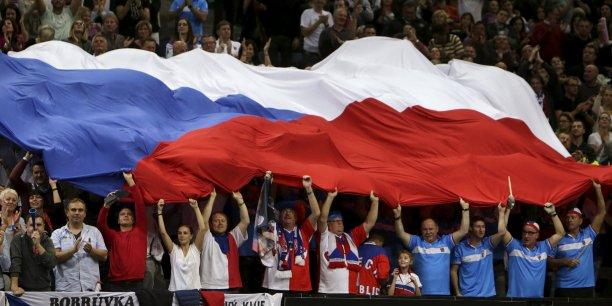 Le drapeau de la Tchéquie, anciennement république tchèque.
