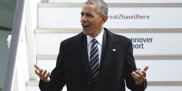 Barack Obama aimerait finaliser les négociations sur l'accord de libre-échange avec l'Europe avant la fin de son mandat de président des Etats-Unis.