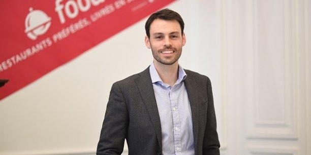 Boris Mittermüller, ancien de l'agence McKinsey, dirige les équipes françaises de Foodora.