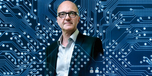 Alain Foucaran, directeur de l'Institut d'électronique et des systèmes (IES), à Montpellier.