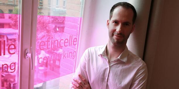 Sébastien Hordeaux, fondateur d'Étincelle Coworking