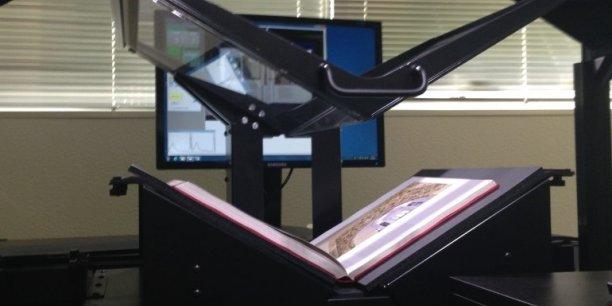 Avec ses scanners ultra sophistiqués (ci-dessus une production de DigiBook) i2S s'est imposé comme une référence dans les bibliothèques
