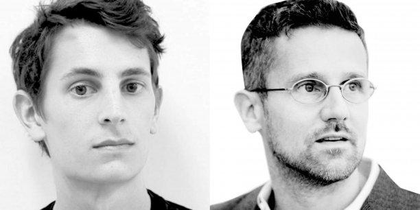 De gauche à droite, Matthew Claudel et Carlo Ratti