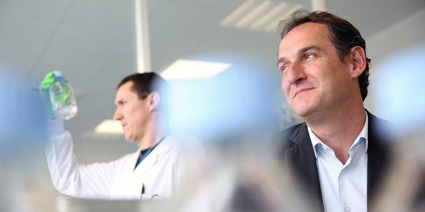 Marc Lemonnier, le cofondateur et président de la biotech Antabio
