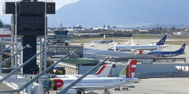 L'aéroport de Genève.
