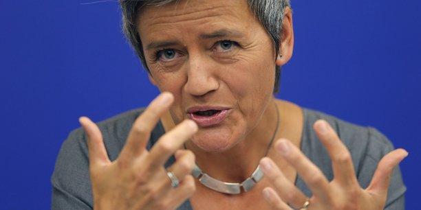 Margrethe Vestager, la commissaire européenne à la Concurrence, craint que la consolidation dans les télécoms ne débouche sur une hausse des factures payées par les consommateurs.