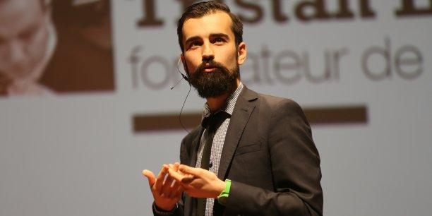 Tristan Laffontas, cofondateur de MoiChef avec Romain Priot.