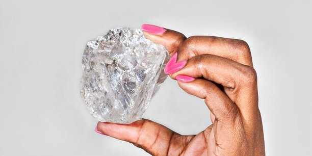 acheter en ligne ea7e1 e8d7e Un diamant brut vendu à un prix record de 63 millions de dollars