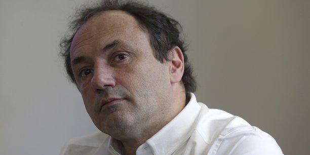 Ludovic Le Moan, le patron de Sigfox. La société revendique 7 millions d'objets connectés à son réseau.