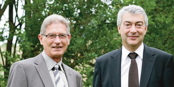 André Samier, président et Alain Condaminas, directeur général de la BPO