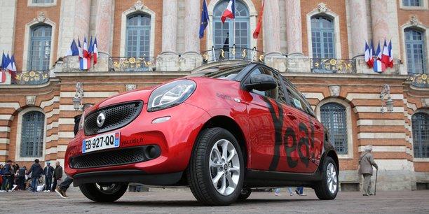 20 nouveaux véhicules sont mis à diposition par Citiz Toulouse ( ex Mobilib)