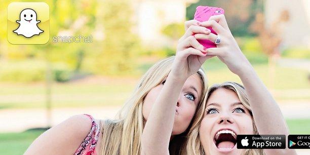 La croissance fulgurante de Snapchat, que Facebook a tenté -sans succès- de racheter, est en passe de l'imposer comme le réseau social préféré des ados.