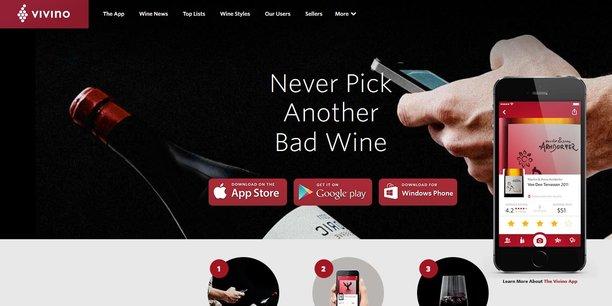 Heini Zachariassen, le PDG et fondateur de l'application mobile n'ambitionne pas moins que devenir l'Amazon du vin.