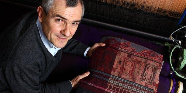 Eric Boël est le président d'Unitex. L'Union Inter-entreprise textile de Lyon et sa région organise ce 2 juin le Textival, une convention d'affaire dédiée aux professionnels du secteur.