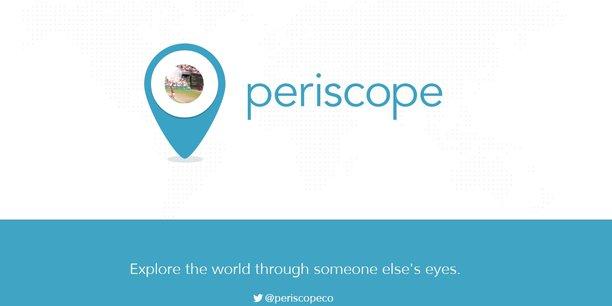 Comme Twitter l'a été pour les révolutions arabes, en 2011, Periscope incarne une disruption dans la manière d'informer et de recevoir l'information.