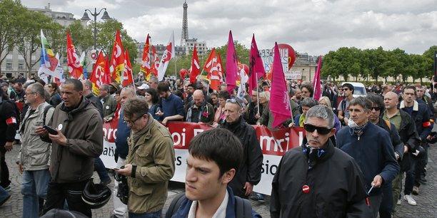 À Paris, les manifestants étaient entre 11.000 et 12.000 selon la police.