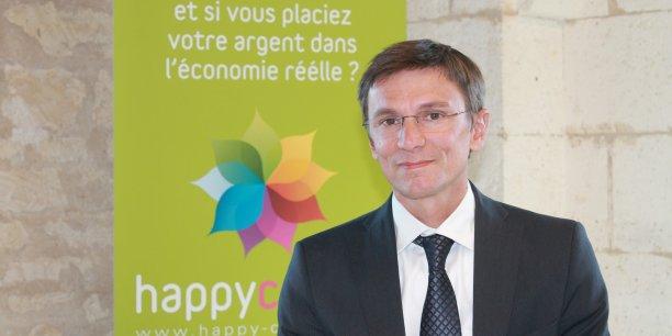Philippe Gaborieau, président fondateur de la plateforme Happy Capital