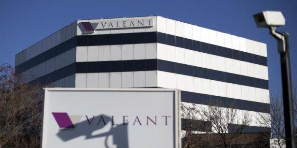 Premier événement ayant secoué l'action Valeant: less attaques des hommes politiques américains sur les prix des médicaments.