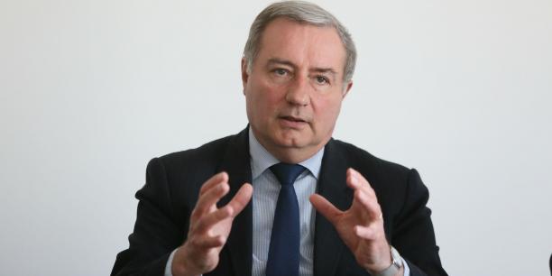 Jean-Luc Moudenc, président de Toulouse Métropole